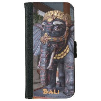 Elefant-Gott Balis Indonesien iPhone 6/6s Geldbeutel Hülle