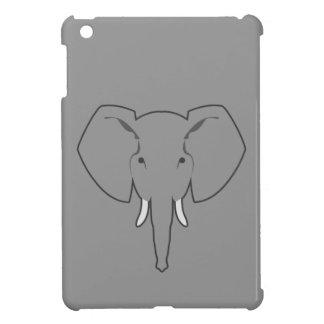 Elefant grauer ipad Kasten iPad Mini Cover