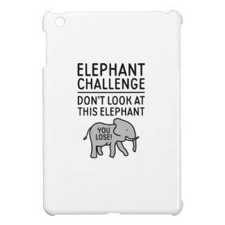 Elefant-Herausforderung iPad Mini Hülle