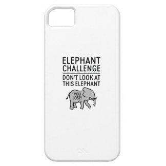 Elefant-Herausforderung iPhone 5 Case