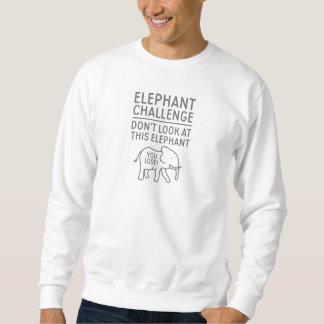 Elefant-Herausforderung Sweatshirt