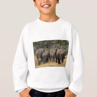 Elefant-Herde Sweatshirt