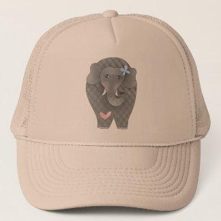 Elefant-Herz Truckerkappe