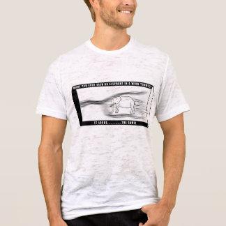 Elefant in einem Windkanal T-Shirt