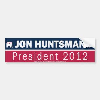 Elefant Jon Jäger-Präsidenten-2012 Republikaner Autoaufkleber