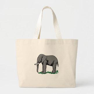 Elefant Jumbo Stoffbeutel