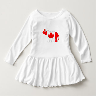 Elefant Kanada Kleid