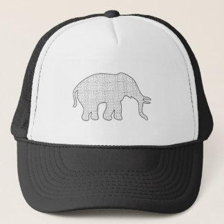 Elefant-Labyrinth Truckerkappe