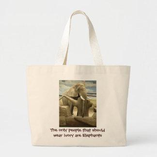 Elefant-Liebe Jumbo Stoffbeutel