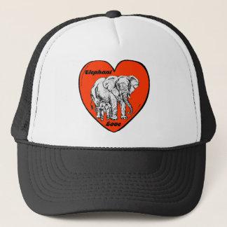 Elefant-Liebe Truckerkappe