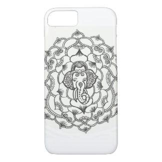 Elefant-Mandala-Hennastrauch-Telefon-Kasten für iPhone 8/7 Hülle