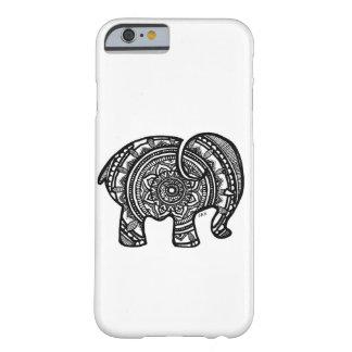 Elefant-Mandala iPhone Fall Barely There iPhone 6 Hülle