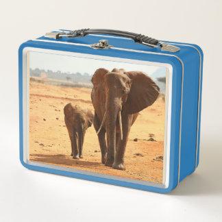 Elefant Metall Lunch Box