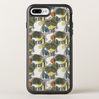 Elefant-Muster OtterBox Symmetry iPhone 8 Plus/7 Plus Hülle
