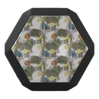 Elefant-Muster Schwarze Bluetooth Lautsprecher