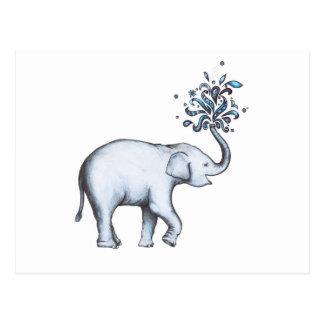 Elefant (Postkarte) Postkarte