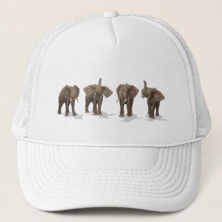 Elefant-Quartett Truckerkappe