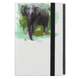 Elefant-Schutz-niedlicher gemalter Baby-Elefant iPad Mini Hülle