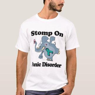 Elefant stampfen auf Panik-Störung T-Shirt