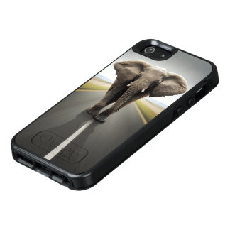 Elefant-Straßen-Reise OtterBox iPhone Se-Kasten OtterBox iPhone 5/5s/SE Hülle