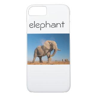 Elefant-Telefon-Kasten iPhone 8/7 Hülle