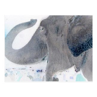 Elefant! umgewandelt postkarte