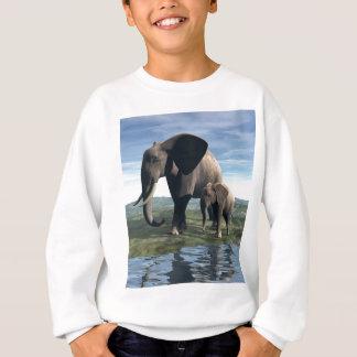 Elefant und Baby Sweatshirt