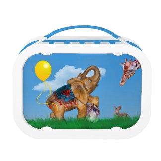 Elefant-und Ballon-Fantasie Brotdose