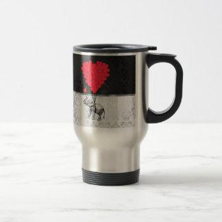 Elefant- und Liebeherz Kaffeetassen