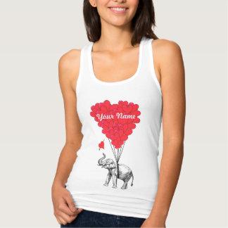 Elefant- und Liebeherzen Tshirts
