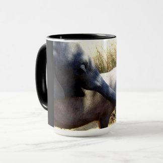 Elefant und Schwein Tasse