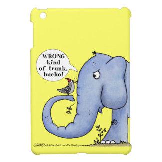Elefant-und Specht-Missverständnis iPad Mini Hülle
