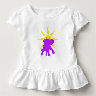 Elefant und Sun Kleinkind T-shirt