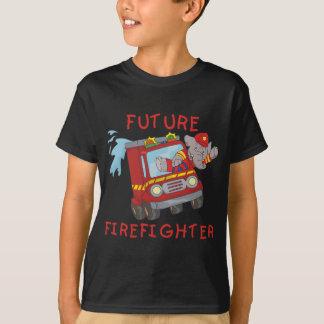Elefant-zukünftige Feuerwehrmann-T-Shirts und T-Shirt
