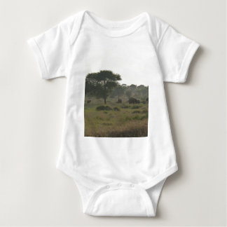 Elefanten Babygrow, afrikanische Safari-Sammlung Tshirts