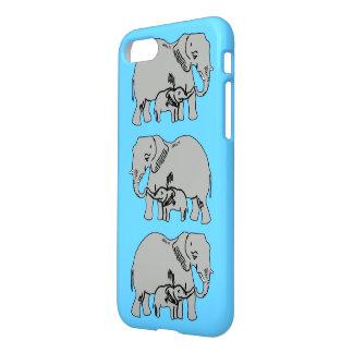 Elefanten blauer iPhone 7 Kasten iPhone 8/7 Hülle
