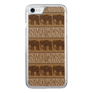 Elefanten Carved iPhone 8/7 Hülle
