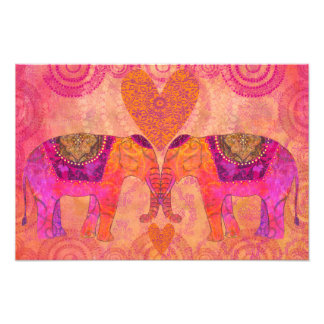 Elefanten in der Liebe Photographie