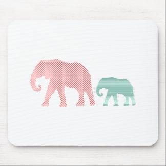 Elefanten Mousepad