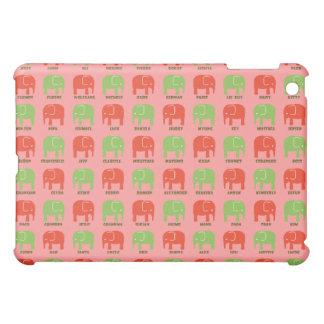 Elefanten sind Ihr beste Freunde iPad Fallrosa Hüllen Für iPad Mini