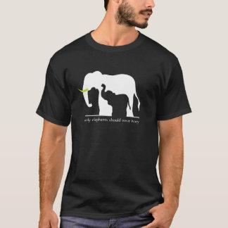 Elefanten und Elfenbein T-Shirt
