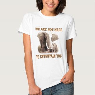 Elefanten verdienen Respekt T-Shirts