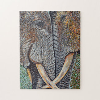 Elefanten vergessen nie puzzle