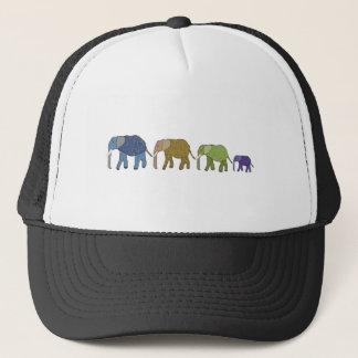 Elefanten vergessen nie truckerkappe
