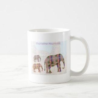 Elefantenartiger Berg Kaffeetasse