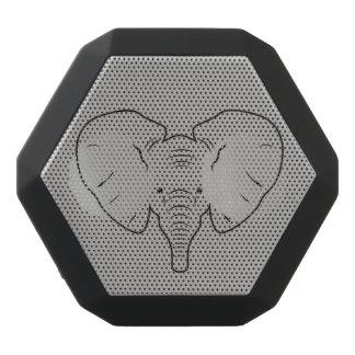 Elefantgesichts-Silhouette Schwarze Bluetooth Lautsprecher