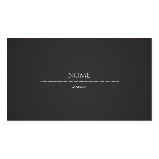Elegant 2 visitenkarten vorlage
