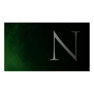 Elegant and Modern 2 ,(Green) Visitenkarten