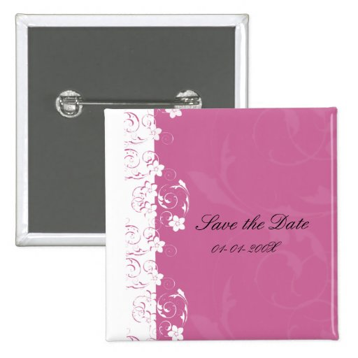 Elegant Save the Date Button