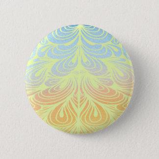 Elegant, stilvoll, Verzierungen Runder Button 5,7 Cm